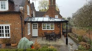 glass veranda installation verandas and canopies uk