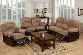 Fabric Recliner Sofa by Beige Fabric Reclining Sofa Steal A Sofa Furniture Outlet Los