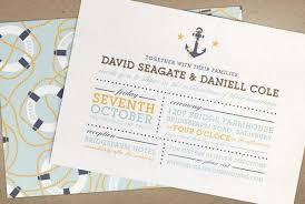 nautical wedding invitations nautical wedding invitations weddbook