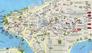 map of new york and manhattan manhattan ny map of city new york city maps nyc and manhattan map