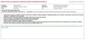 Electrical Supervisor Resume Sample Barrel Fever Stories And Essays Organising Kids Homework Essays On