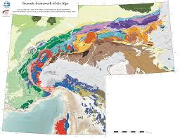 Alps On World Map by Tectonic Framework Of The Alps 1 1 U0027000 U0027000