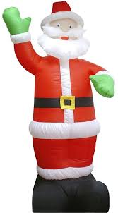 Outdoor Christmas Decorations Au by 3m Tall Inflatable Santa Waving Outdoor Air Power Christmas
