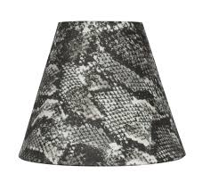 Mini Chandelier Lamp Shades Snakeskin Fabric Mini Chandelier Lamp Shade 6 Inch Softback