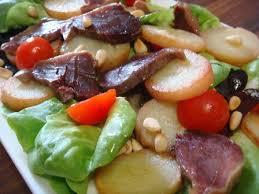 cuisine landaise salade landaise aux gésiers d oies confits astuces et recettes de
