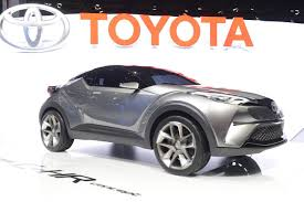 toyota new c hr toyota c hr concept hybrid crossover unveiled at frankfurt