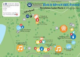 Columbia Missouri Map Festival Information Roots N Blues N Bbq Festival