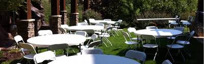 table chair party rentals in new york city and long island