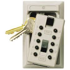kidde permanent 5 key box with pushbutton combination lock clay