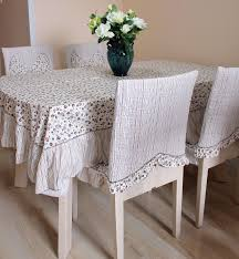 dining room cotton dining room table pads in white with coffee