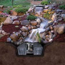 triyaecom u003d backyard waterfalls and ponds kits various backyard