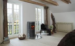 wood heating stove contemporary cast iron soapstone morsø