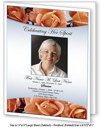 funeral booklets obituary template large obituary templates