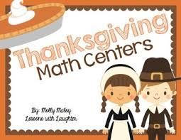 thanksgiving math centers grades 3 5 by molly maloy tpt