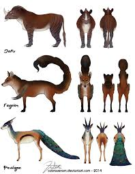 mythical creatures 3 commission by cobravenom on deviantart