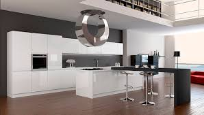arrex cuisine contemporary kitchen laminate high gloss lacquered