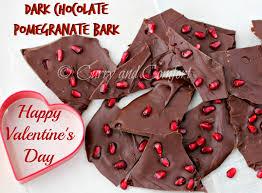kitchen simmer dark chocolate pomegranate bark bloggerclue