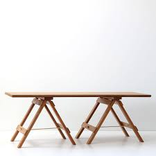 Trestle Coffee Table Recycled Wood Trestle Table Coffee Table Rimu Kcimory Designs Nz