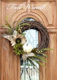 fall wreath ideas new fall wreath confessions of a serial do it yourselfer