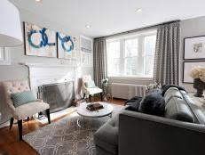 gray living room design ideas u0026 decor hgtv