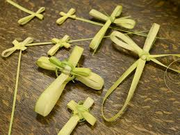 palms for palm sunday learn how to make a palm cross for palm sunday easy