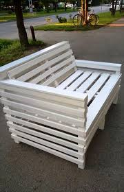 Wooden Pallet Patio Furniture by Upcycled Wooden Pallet Bench 99 Pallets
