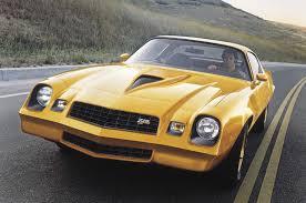 chevy camaro through the years chevrolet camaro performance through the years motor trend