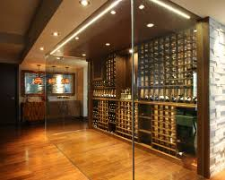 in floor wine cellar glass enclosed wine cellar houzz