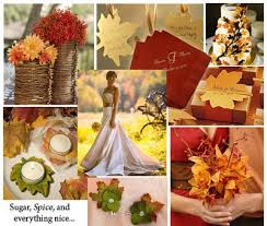 fashion and stylish dresses blog fall themed wedding ideas