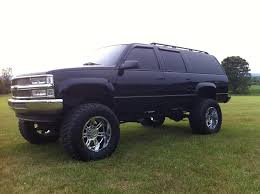 1999 k2500 chevy suburban 454 on 38 u2033 mickey thompsons lifted
