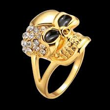 modern skeleton ring holder images Cool rhinestone skeleton design gold color ring for women very jpg