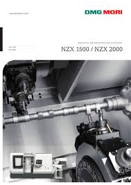 nzx 1500 nzx 2000 dmg mori pdf catalogue technical