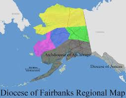 Alaska Map Images by Diocesan Map Catholic Bishop Of Northern Alaska