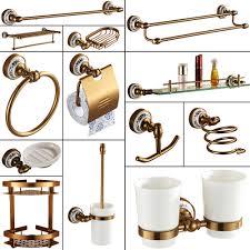 Bathroom Accessories Aliexpress Com Buy Antique Brushed Aluminum Bathroom Accessories