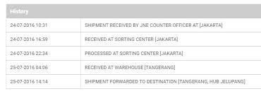cek resi jne berdasarkan nama resi jne tidak ditemukan dan tidak bisa di tracking