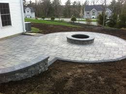 Patio Pavers Installation Unilock Thornbury Permeable Paver Installation With Pit