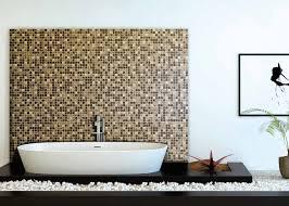 bathroom mosaic tile wall glass matte print graphics