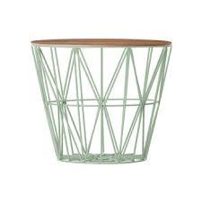 wire baskets designer home accessories amara