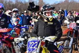 first motocross bike eddie ray