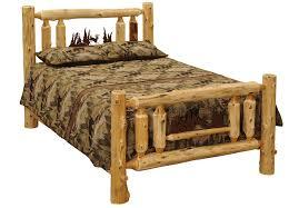Cedar Log Bedroom Furniture by Iron Ranger Cedar Log Bed Lfsb08 Minnesota Log Bedroom