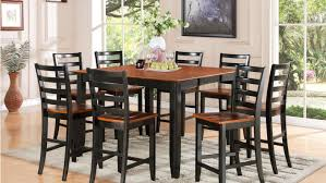 Black Glass Dining Table And Chairs Dining Room Bright Black Dining Room Table Bench Marvelous Black