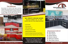 aluminium kitchen cabinet technoglass pk