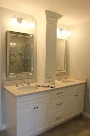 elegant bathroom remodel granite state cabinetry