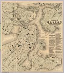 Map Of Boston Harbor by Boston David Rumsey Historical Map Collection