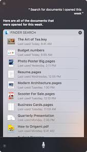 Best Resume App For Mac 2016 by Use Siri On Your Mac Apple Support