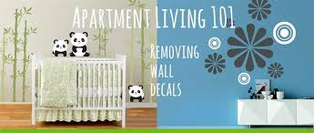 Decals For Walls Nursery How To Remove Wall Decals Apartments