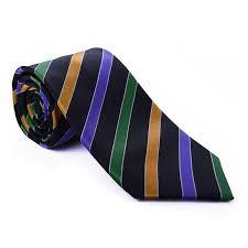 mardi gras tie mardi gras black stripe tie collaborations haspel