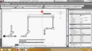Plumbing Floor Plan Autocad Autolisp Plumbing Drawing By Dok Aga Youtube