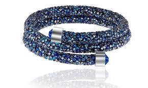 double wrap bracelet images Crystal energy double wrap bracelet made with swarovski crystals jpg