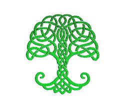 celtic tree of etsy